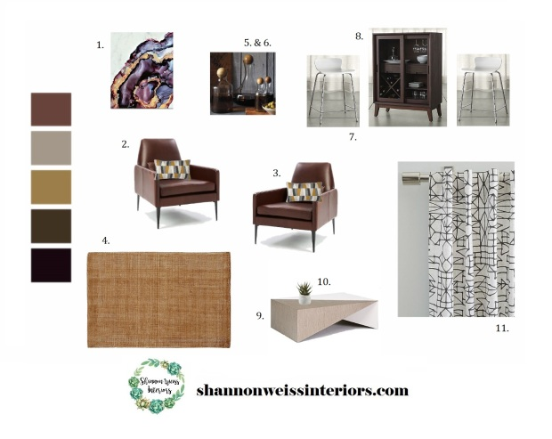 Taflin Sitting Room Inspiration Board Draft